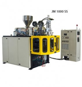 Small Machine Series: 100 ml - 5000 ml Continuous Parison Type