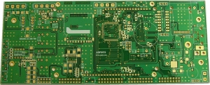 Double Sided PTH Gold Plated PCB