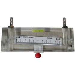 Inclined Manometer In Range 0-10 MM