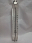 Acrylic Body Rotameter With Flange