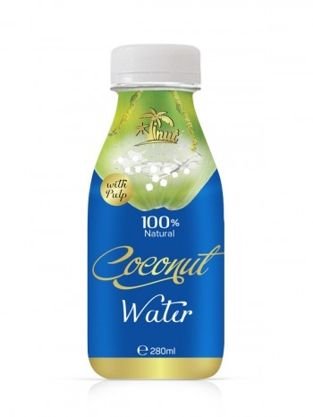 100 Percent Natural Coconut Water With Pulp