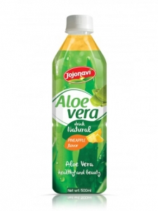 Aloe Vera Juice Drink With Lime Flavour