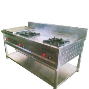 2 Burner With Hotplate