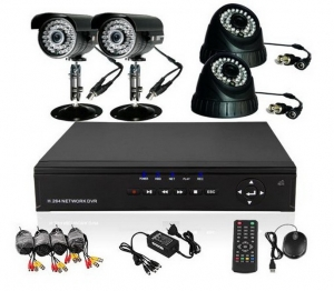CCTV Camera Surveillance Systems with DVR (Digital Video Recorders)