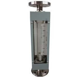 Glass Tube Rotameter with Flange connection