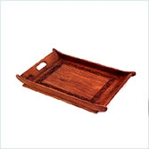 Handcarved Serving Tray