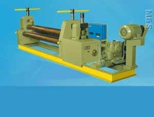 TEE 3 Roll Pyramid Type Mechanical Plate Bending Machine