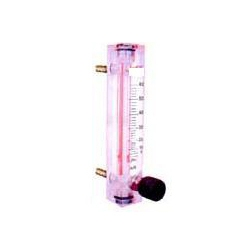 Acrylic Body Rotameter With Valve