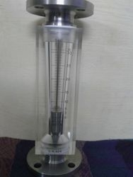 Acrylic Body Rotameter In Flange Connection for 0-31000 LPH
