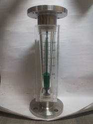 Acrylic Body Rotameter with Teflon Float