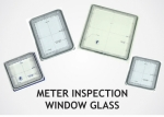 Meter Inspection Window Glass
